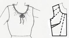 Resultado de imagen para elaboracion de cuellos solapa o postizos