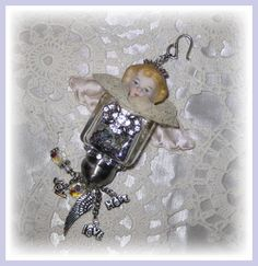 Vintage Frozen Charlotte Angel (sold)