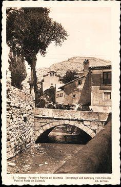 Valencia, Grand Canyon, Bridge, Nature, Travel, World, Vintage Postcards, Antique Photos, Antique Doors