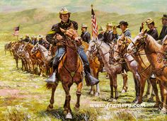 us cavalry indian wars - Google Search
