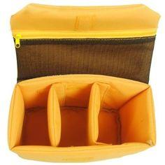 "OneTigris Waterproof Shockproof Partition Padded Camera Bags SLR DSLR TLR Insert Protection Case 11.8""* 8.8""*4.3"" - For Sale"