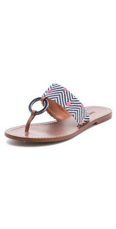 aa538598be63 Missoni Flat Sandals  missoni  sandals Cute Sandals