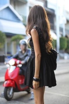 None The Richer Black Backless Dress