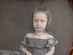 Young Pretty Little Girl Daguerreotype Photograph | eBay