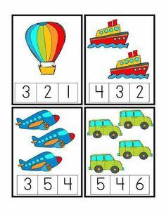 Preschool Printables: Transportation unit including math, writing, etc. Kids Math Worksheets, Preschool Learning Activities, Preschool Printables, Preschool Activities, Transportation Theme Preschool, Transportation Worksheet, Numbers Preschool, Math Numbers, Math For Kids