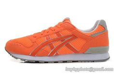 Women's Asics Sneaker Running Shoes A  Orange|only US$95.00 - follow me to pick up couopons.
