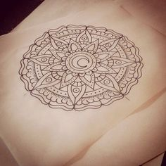 Ready for tomorrow. Looking forward to this one. #mandala...