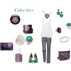 Color Love, created by karol-roo on Polyvore