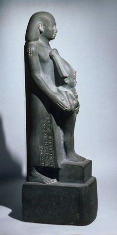 Statue of Harbes, called Psamtiknefer, son of Ptahhotep | Late Period, Saite | The Met