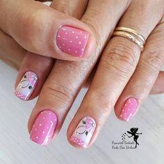 Acrylic Nail Art, Dog Snacks, Mani Pedi, Spring Nails, Pretty Nails, Nail Art Designs, Finger, Nailart, Nail Polish