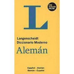 Langenscheidt diccionario moderno alemán : español-alemán, alemán-español / editado por la Redacción Langenscheidt
