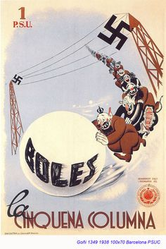 Spain - 1938. - GC - poster - autor: Lorenzo Goñi