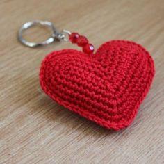 Valentine Heart Sachet Crochet Pattern