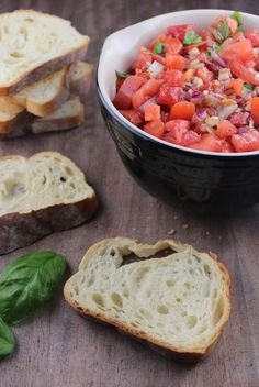 Fresh Tomato Basil Bruschetta Recipe #summer #recipe