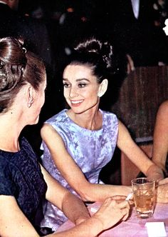 Audrey Hepburn at the premiere of My Fair Lady, 1964.