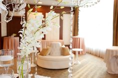 Blush Crepe Satin linen/Whisper Banquette/Ritz Carlton Boston Common Weddings/ Person  Killian Photography