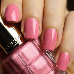 Jardin des Roses Loreal, Swatch, Diva, Roses, Nail Polish, Awesome, How To Make, Color, Rose
