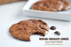 gluten free Mexican chocolate cookies recipe