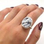 Cómo hacer un original anillo con pasta de modelar