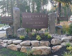 Custom Made Sign  Completed for Swiftwater Cellars Welcome Sign.  You can find much of our work all through out Suncadia, just near Roslyn, WA.   See More @ http://www.centerlineartworks.com