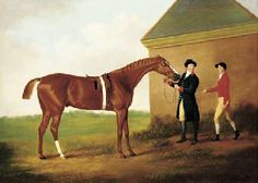 Eclipse, with Jockey and Groom by Daniel Clowes (1774-1829)