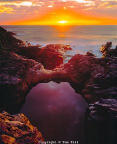 Sunrise at Seven Pools, Haleakala National Park, Island of Maui, Hawaii