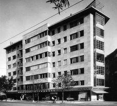 Simplon Building, Budapest 1934 Budapest, Bauhaus, Art Nouveau, Art Deco, International Style, Old Pictures, Historical Photos, Hungary, Tao