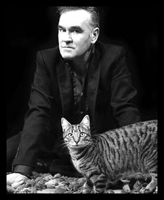 Morrissey and his cat