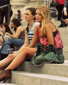 Gossip Girl Blair and Serena (Leighton Meester and Blake Lively)