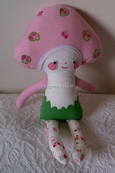 Papgena Made it: my version of the mushroom doll