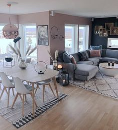 45 amazing gorgeous living room color schemes to make your room cozy 47 - Home Design Ideas Living Room Decor Cozy, Living Room Colors, Living Room Interior, Home Living Room, Home Interior Design, Living Room Designs, Living Area, Home Decor, Future