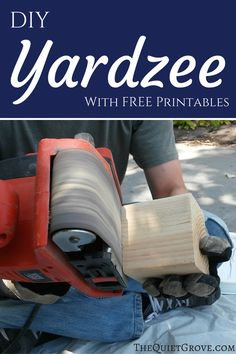 DIY Yardzee With FREE Printables