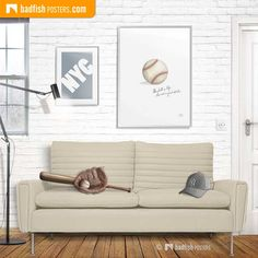 Baseball artwork with the quote 'Baseball is life, the rest is just details'. A tribute to the movie 'Field of Dreams' and the magic of this great game. Minimalist Artwork, Field Of Dreams, Poster Prints, Poster Poster, Baseball Field, Love Seat, Gallery Wall, Rest, Nyc