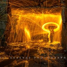 Steel wool spinning 4