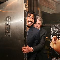 Star Tracks: Friday, April 29, 2016 | HIDE & SEEK | The Man Who Knew Infinity costars, Dev Patel and Jeremy Irons, squeeze in a game of hide and seek at the film's afterparty on Wednesday in N.Y.C.