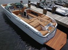 Likes, 50 Comments - Boats Sport Boats, Ski Boats, Fast Boats, Cool Boats, Yacht Boat, Pontoon Boat, Yacht Design, Boat Design, Lake Floats