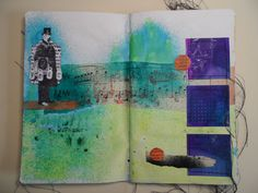 Art Journal page 3 - Mixed media
