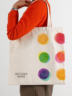The identity applied to a tote bag. | by Pentagram - Team: Marina Willer, partner-in-charge; Hiromi Suzuki and Ian Osbourne, designers; Lucie Garnier, project manager.