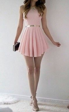 #summer #fashion / pink dress