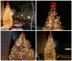#Christmas, #ShoppingCart, #Tree, #Upcycled