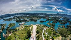 Guatape, Colombia by laurent lhomond on Behance