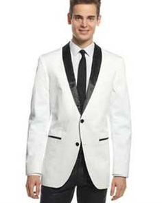 Velvet Velour Blazer Formal Tuxedo Jacket Sport Coat Two Tone