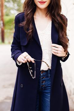 New Darlings - Classic French Girl Style with Sezane and Liketoknow.it - Nay Trench Front Button Jeans Girl Fashion, Womens Fashion, Fashion Tips, Fashion Outfits, New Darlings, Casual Outfits, Cute Outfits, Make Do And Mend, French Girl Style