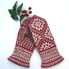 Fair Isle knitting patterns-Zinnia Mittens Knitting Pattern PDF – The Best Ideas Mittens Pattern, Knit Mittens, Knitted Gloves, Knitting Socks, Knitting Stitches, Hand Knitting, Fair Isle Knitting Patterns, Crochet Patterns, Fair Isles
