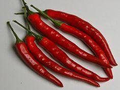 Heirloom, Long Thin Cayenne Pepper, Hot, Garden Favorite, 10 Seeds