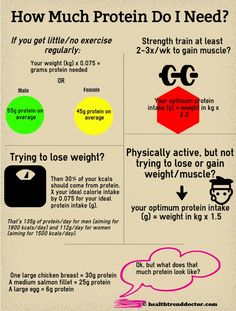 healthtrenddoctor.com protein intake guide