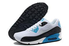 low priced 4d7c4 343bc Nike Air Max 90 Premium Em Unisex White Black Running Shoes Usa