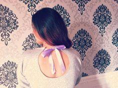 DIY Bow Back Sweater : How to recycle / glam up your old sweaters! #diybowbacksweater #sweater #diysweater #giy #giysweater #oldsweater #sweaterweather #inspiration #fashioninspiration #fashionblogger #recycle #glamitup #glamup #howto #tutorial #howtoglamup #recycleoldsweater #youtubetutorial #youtubevideo #fashionblogger #sexysweater #sexyback #bow #bowsweater #diybowsweater #serenaloserlikeme #aloserlikeme #aloserlikemediy