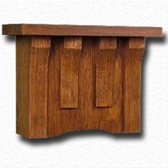 This Craftsman doorbell cover will add a wonderful touch to your special Bungalow decor. It hangs easily over mosu2026 | Pinteresu2026  sc 1 st  Pinterest & The Craftsman in Quartered Oak. This Craftsman doorbell cover will ... pezcame.com