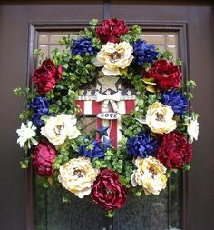 Americana Wreath Patriotic Wreath